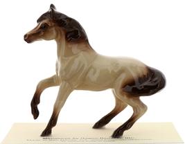 Hagen-Renaker Miniature Ceramic Horse Figurine Buckskin Mare with Leg Up image 3