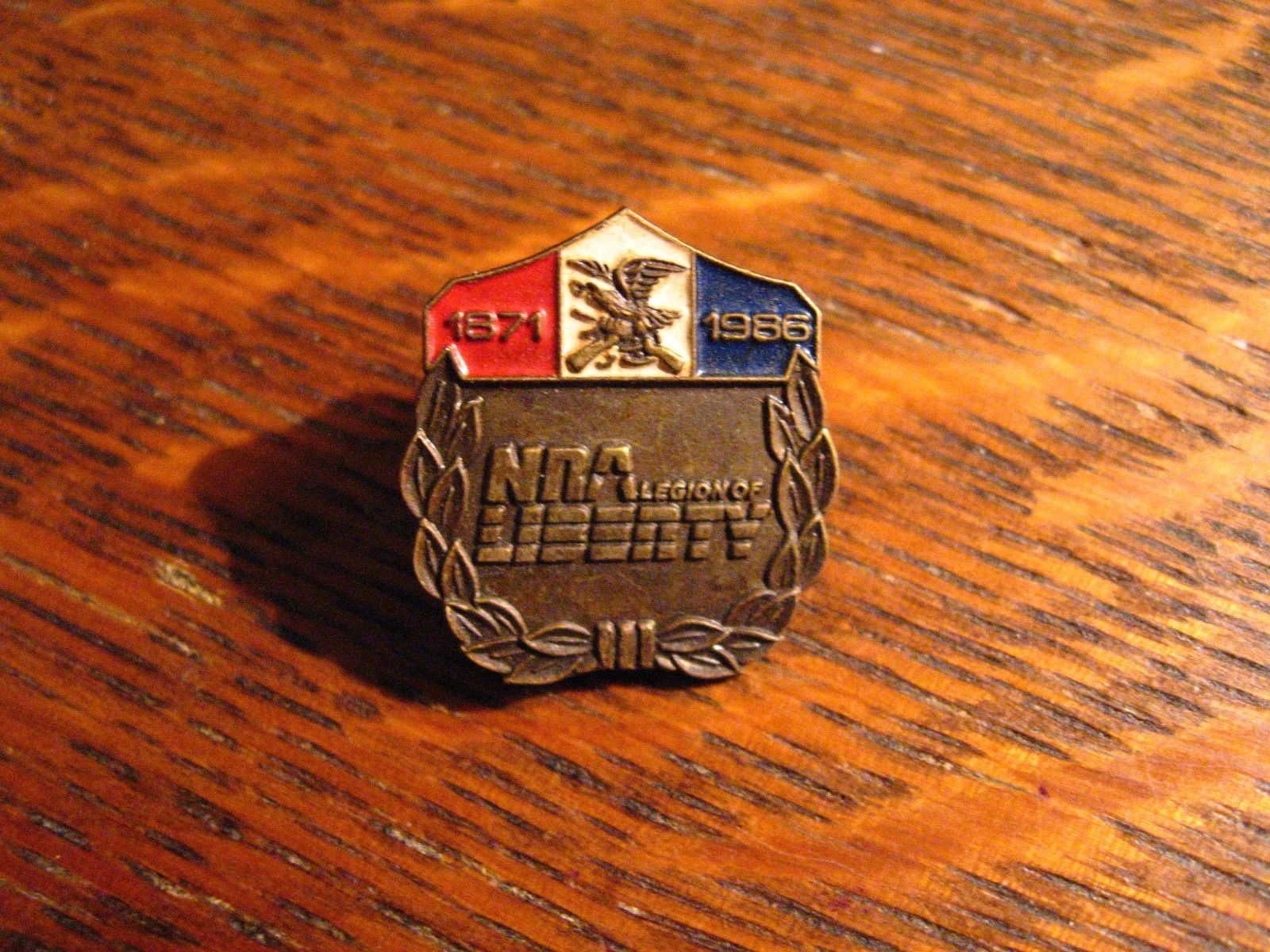 NRA Lapel Pin - Vintage 1986 National Rifle Association Legion Of Liberty USA