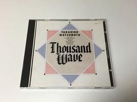 TAK MATSUMOTO JAPAN VERSION ALBUM CD THOUSAND WAVE   - $14.99