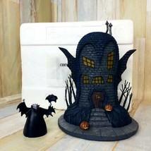 Nightmare Before Christmas Halloween Village Vampire House Interior Ligh... - $345.13
