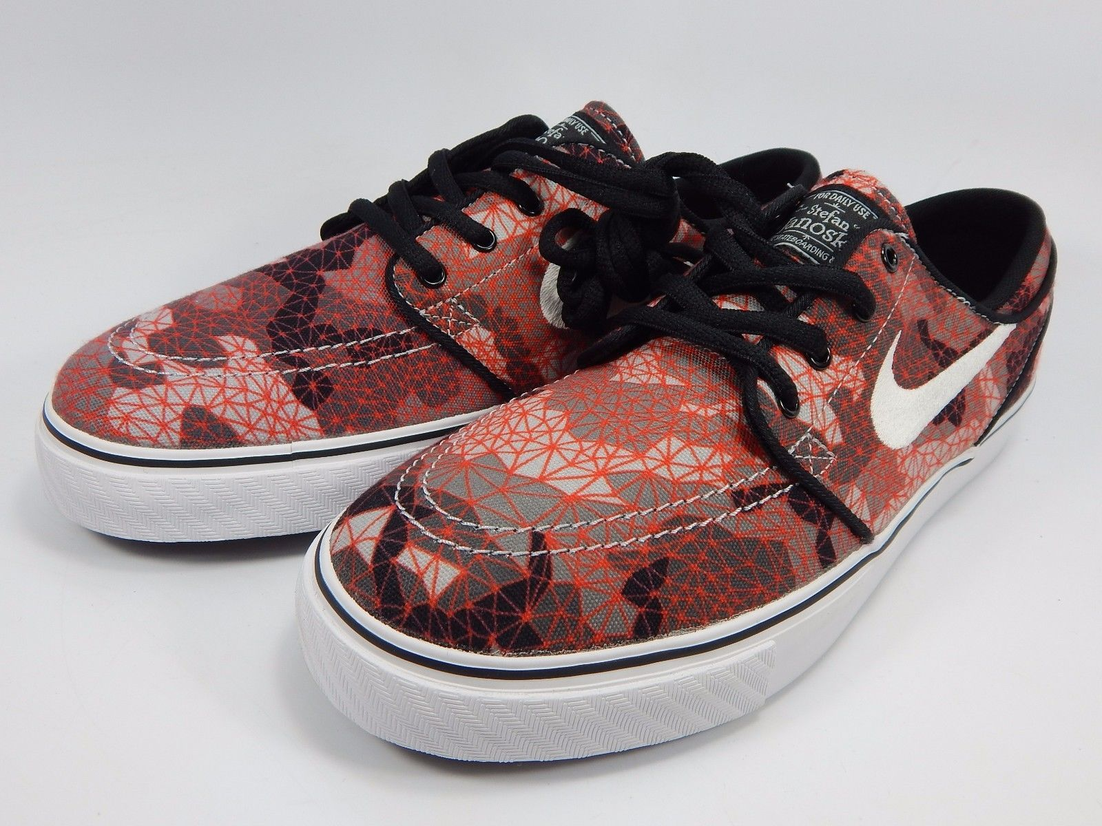Nike Stefan Janoski Canvas Kid's Youth Skate Shoes Size 7 Y (M) EU 40 654862-010