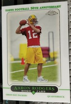 2005 Topps Chrome Aaron Rodgers RC Green Bay Packers #190 - $249.99