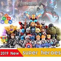 New 24pcs Avengers Endgame Thanos Captain Marvel Hulk Thor Iron Man Minifigures  - $45.99