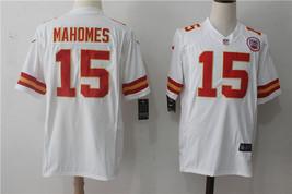 Kansas City Chiefs #15 Patrick Mahomes White Men's Stitched Jersey  - $54.99