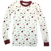 Hanna Andersson Moon and Back Long sleeve Organic Cotton Star Pajama Top... - $19.79