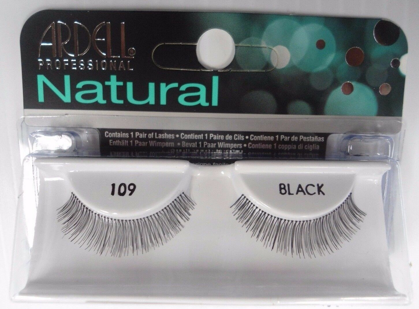 Primary image for Ardell Strip Lashes Natural Style 109 Black (Pack of 4) Easy Steps Application