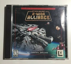 Star Wars X Wing Alliance LucasArts PC Windows Game CD Rom Vintage 1990s - $9.90