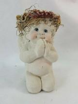 Dreamsicles Cherub  Praying  Angel Figure Kristin 1991 Cast Art ICEP4 - $11.95