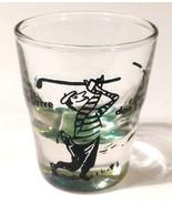 """When Ya Drive Don't Drink Golfer 2.25"""" Collectible Shot Glass - $8.42"""