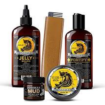 Bossman Complete Beard Kit - Beard Oil, Conditioner, and Balm. Eliminate Beard I image 5
