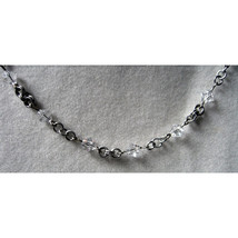 Crystal Beaded Chain Necklace image 4