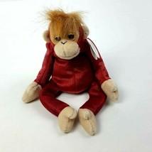 "Ty Beanie Baby Schweetheart  5"" Orangutan Stuffed Animal Retired 1999  - $10.89"