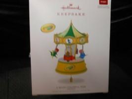 "Hallmark Keepsake ""A Beary Colorful Ride - Crayola"" 2018 Magic Ornament ... - $14.80"