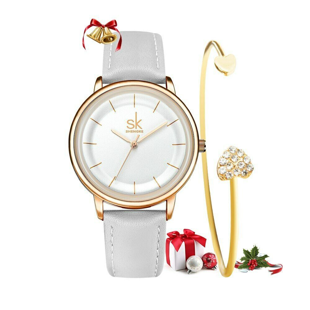 Primary image for SK® Watches Women Simple Fashion Female Leather Quartz Wrist Watch Ladies