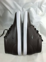 LACOSTE Mens Timeless Fashion ASPARTA 119 Brown Leather Sneakers Shoes C... - $69.99