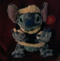 Disney Store Lilo& Stitch Plush Toy Santa Suit Hat Christmas Holiday - $33.39