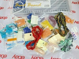 JEWELRY MAKING DIY - HUGE LOT OF BEADS & BEADING MATERIAL See Photos (Box9) image 2