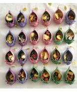 24 LENA LIU  Bradford Editions HUMMINGBIRD Garden Glories Porcelain Orna... - $195.00