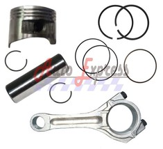 NEW Piston Kit with Connecting Rod Pin Clips Rings FITS Honda GX620 20 HP V Twin - $49.90