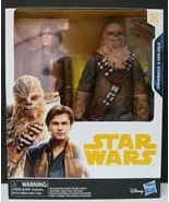 Star Wars 2 Action Figures Pack Han Solo and Chewbacca 10in Well Packed ... - $37.77