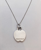Rare Tiffany&Co. Sterling Silver Apple Pendant Charm Necklace - $150.00