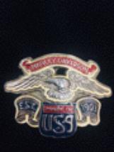Vintage Harley Davidson Belt Buckle  - $45.00