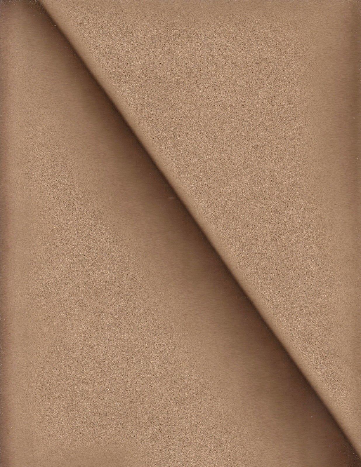Toray Finta pelle Scamosciata Tappezzeria Ultrasuede Ambiente Marrone 4.8m Ej
