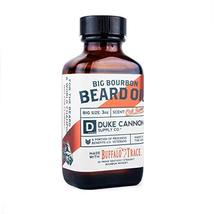 Duke Cannon Big Bourbon Beard Oil, 3 oz - Oak Barrel Scent image 2