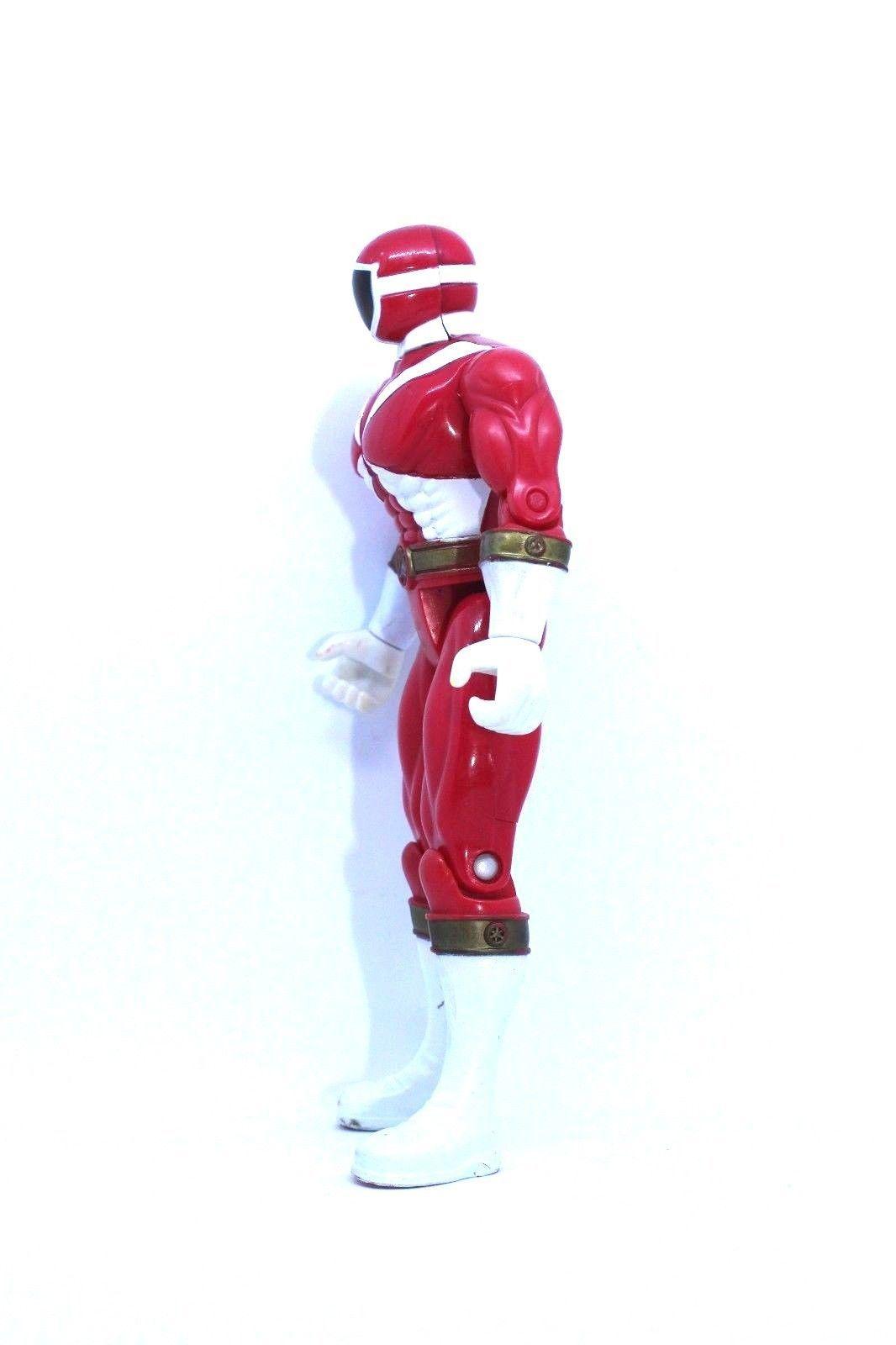 1999 Power Rangers Lightspeed Rescue: Red Lightspeed Power Ranger Action Figure