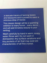 NEW AVON ~Crystal Hummingbird Salt & Pepper Shakers image 8