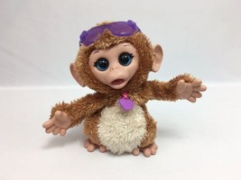 FurReal Friends Baby Cuddles My Giggly Monkey Pet Hasbro 8 Inches See Video - $23.99