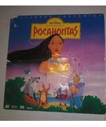 Walt Disney's Pocahontas Laserdisc Letterbox Edition THX LD - $8.90