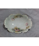 Antique Rosenthal Malmaison Hand Painted Oval Serving Bowl - $35.64