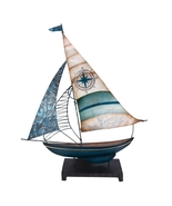 Small Metal and Capiz Boat  - $58.36