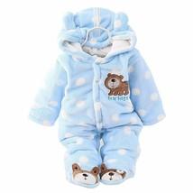 Children Clothing Winter Cartoon Soft Cotton Warm Thick Boys Girls Suit ... - $27.55+