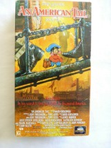 An American Tail (VHS 1991 version) - $7.66