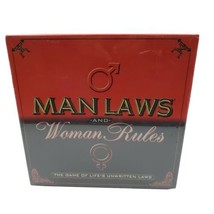 Man Laws And Woman Rules Adult Party Board Game Lifes Unwritten Laws - $27.95