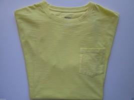 Sonoma Goods For Life Slub Textures Short Sleeve Men T-Shirt Lemon Drop XL $24 - $9.76
