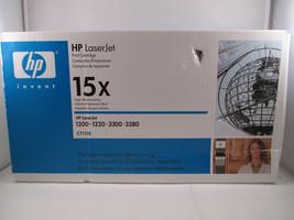 HP LaserJet Toner Print Cartridge 15X C7115X Genuine OEM New - $24.74