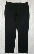 Ann Taylor Loft Women's Size 2 Skinny Straight Leg Black Dress Pants - $16.10