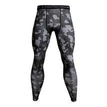 3D Camo Joggers For Men Sweatpants Quick Dry Bodybuilding Compression Pants Men  - $39.45+