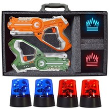 DYNASTY TOYS Camping Games - Laser Tag - Capture The Flag Complete Set. ... - $55.42