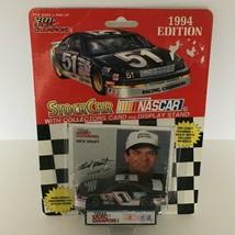 Racing Champions Stock Car Toy Nascar 1994 Edition Rick Mast #1 w/ Display Stand - $4.76