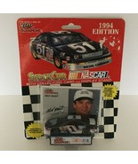 Racing Champions Stock Car Toy Nascar 1994 Edition Rick Mast #1 w/ Displ... - $4.76