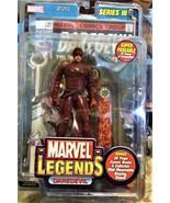 Marvel Legends DAREDEVIL Action Figure Toybiz Series III 2002 NEW  - $35.00