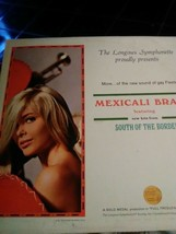 Vintage Vinyl The Longines Symphonette LP Record 2 Mexicali Brass - $8.22