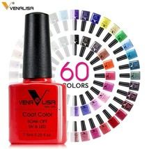 Nail Art Design Manicure Venalisa 60Color 7.5Ml Soak Off Enamel Gel Polish UV - $4.46