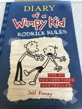 Diary Of A Wimpy Kid Rodrick Rules Hardcover Book - $2.99