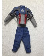 Captain America First Avenger Pants & Jacket 1/6th Scale MMS 156 - Hot Toys - $67.72