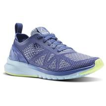 Reebok Print Smooth Clip Ultraknit Shadow/Fresh Blue BS5135 Womens Running Shoes - $59.95